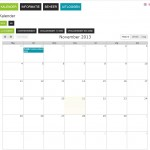 Kalender maand overzicht